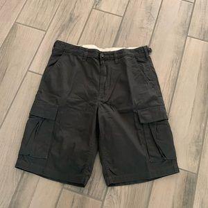 Vans men's cargo shorts size 33 Gray